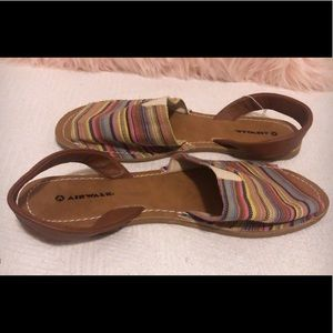 AirWalk patterned sandals